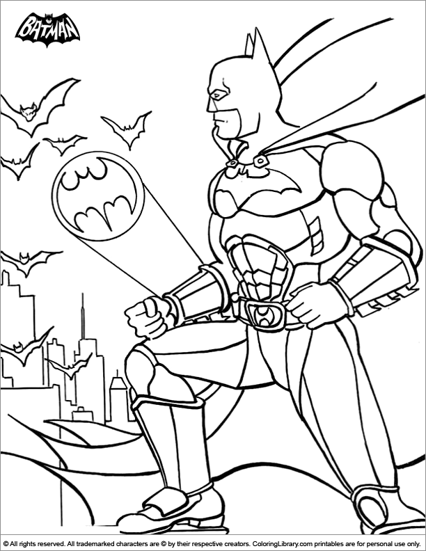 Batman Coloring Picture Batman Coloring Pages Coloring Home