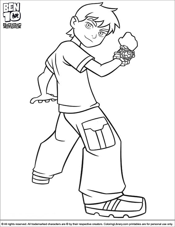coloring pages action figures - ben ten action figure coloring pages coloring pages