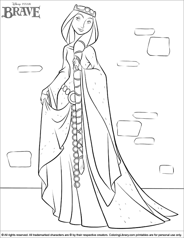 brave coloring pages games kids - photo#18