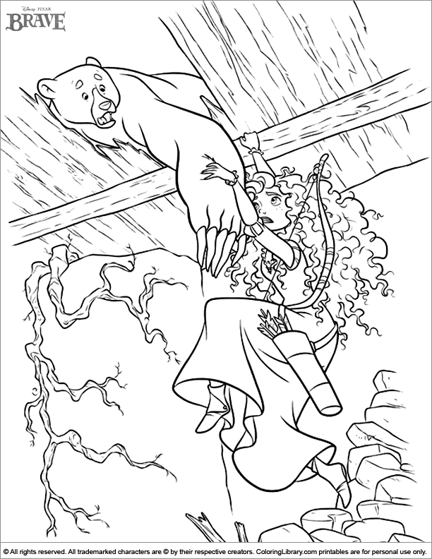brave coloring pages games kids - photo#21
