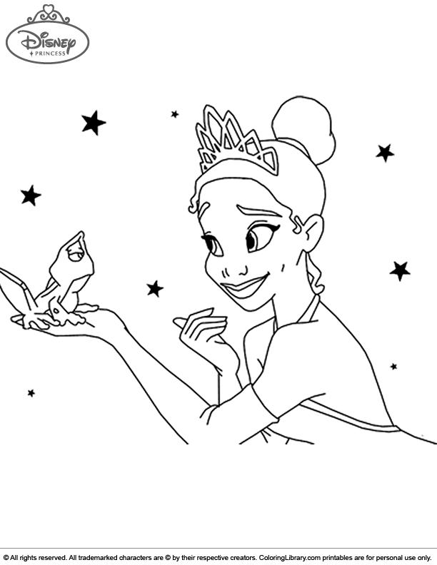 Disney Princesses for coloring