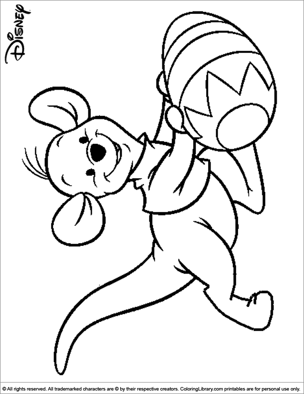 Easter Coloring Pages Disney  Coloring Pages For Kids and All Ages