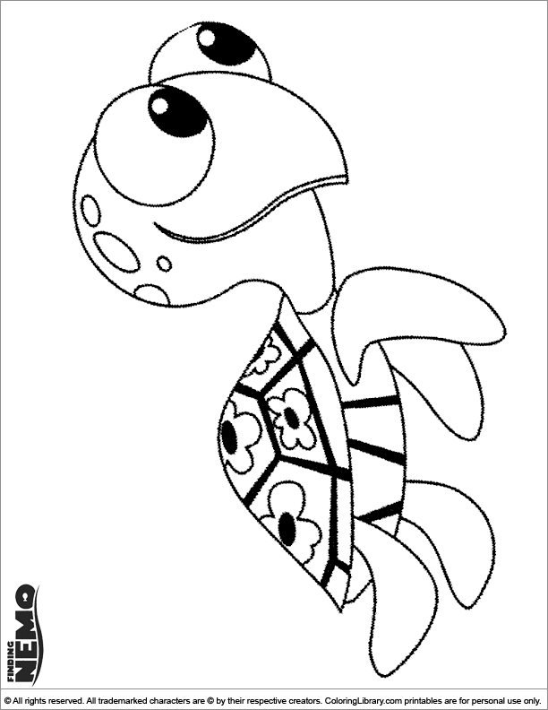 Finding Nemo free coloring