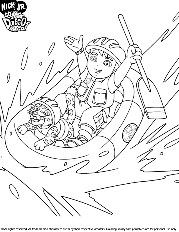 diego baby jaguar coloring pages - photo#9