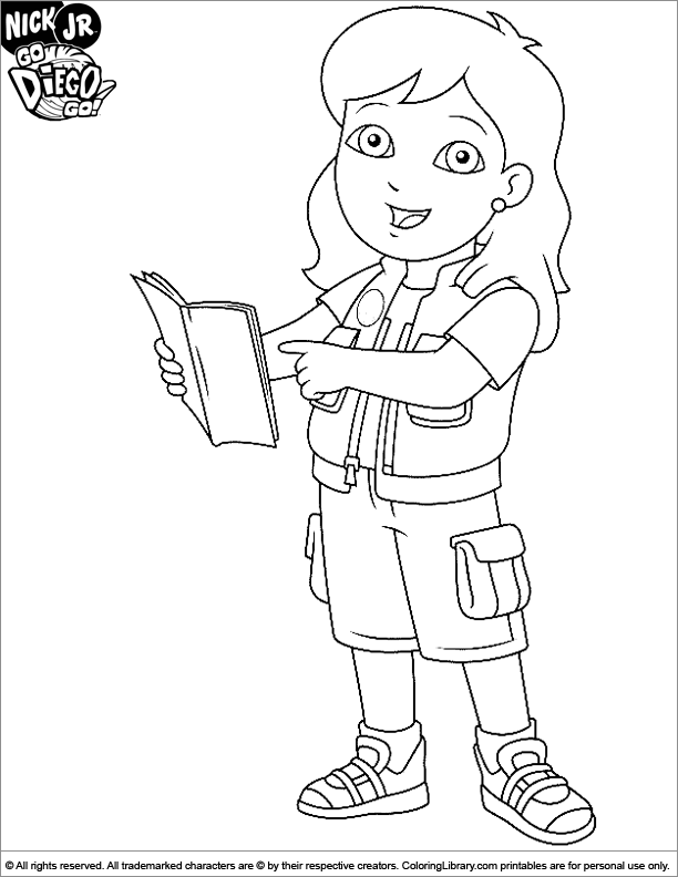 alicia diego coloring pages - photo#6