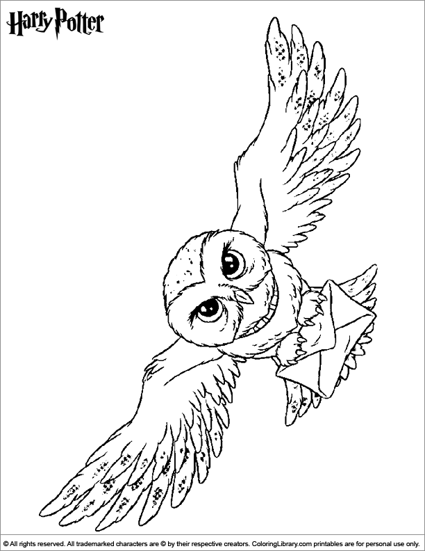 Harry Potter Symbol Coloring Coloring Pages