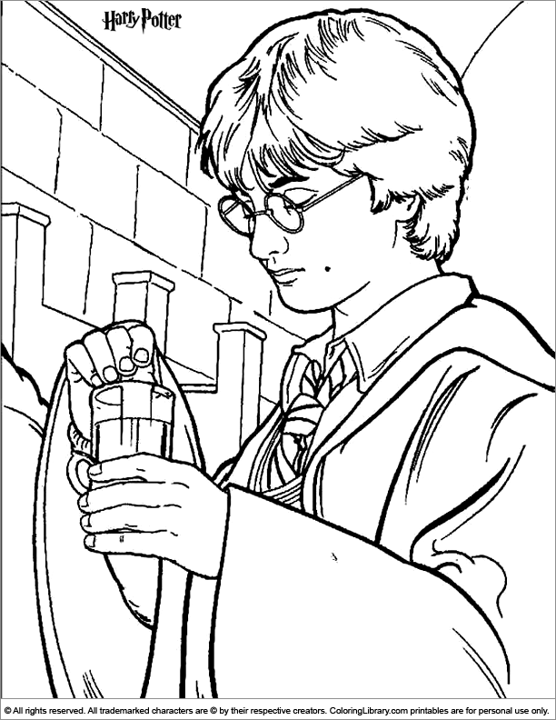 Harry Potter printable for kids