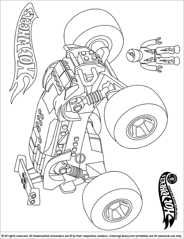hot wheels coloring pages car hot wheels - laracolorhd