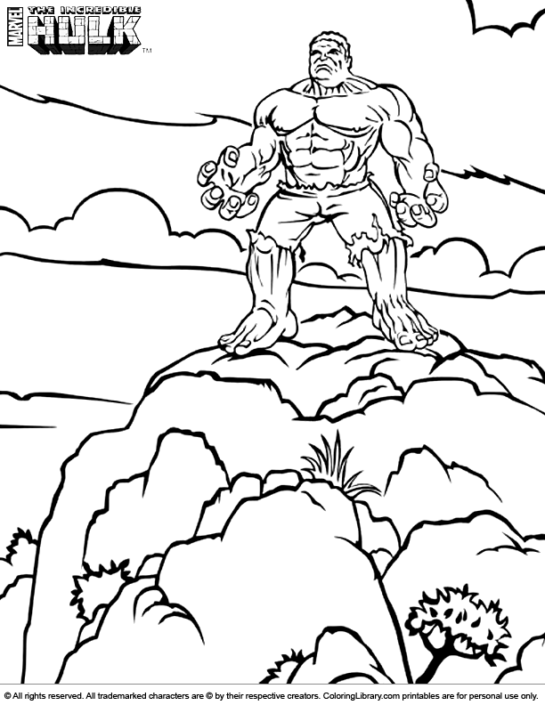 lego red hulk coloring pages - photo #15