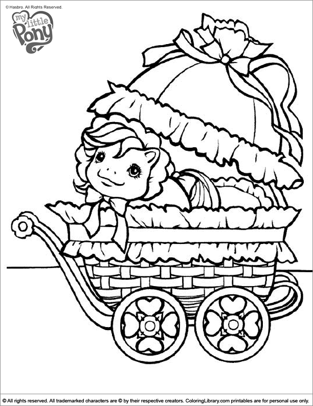 My Little Pony coloring pictures for kids