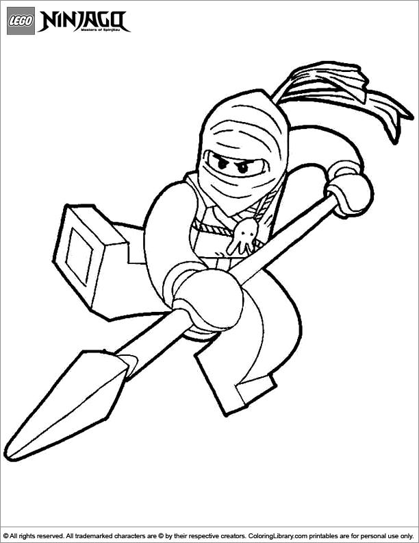 Ninjago printable for kids
