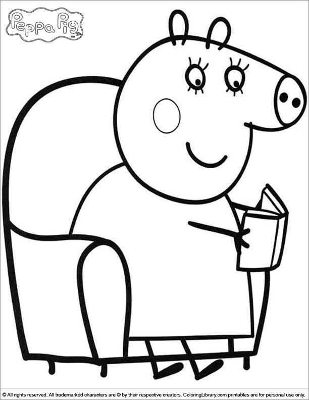 Свинка пеппа игры раскраски онлайн