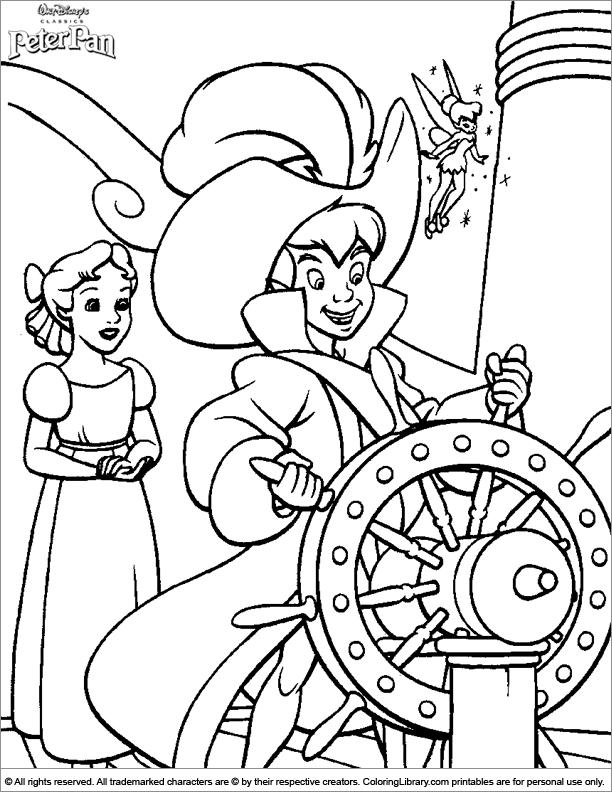 Peter Pan printable for kids