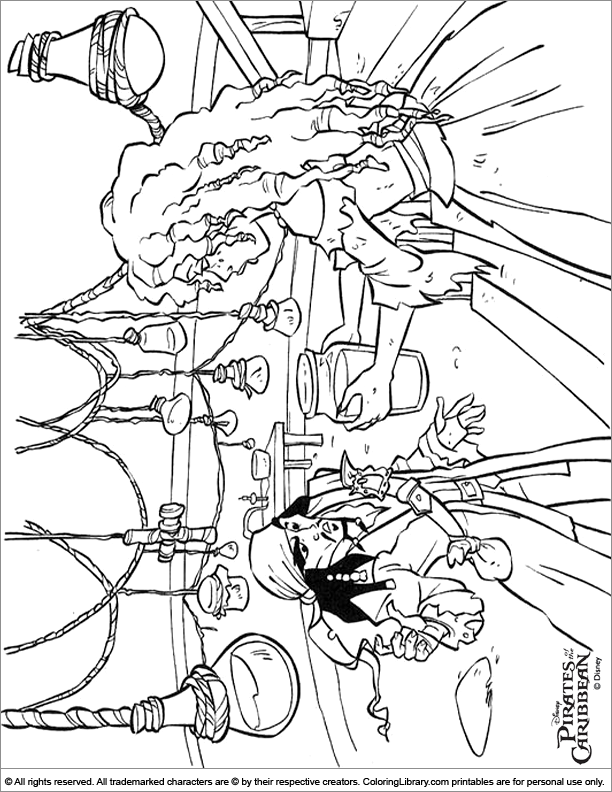 caribbean coloring pages - photo#20