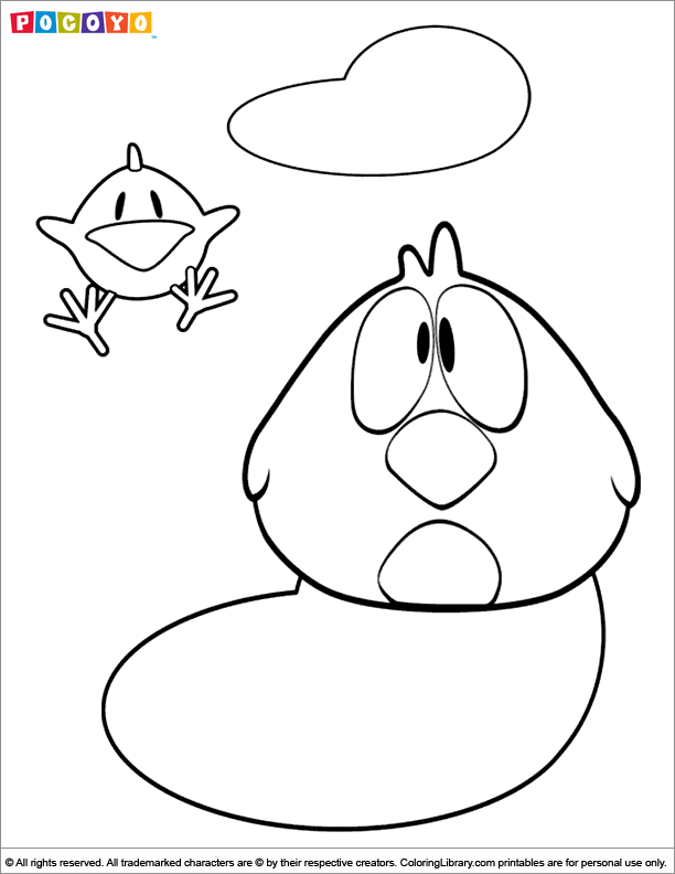 Pocoyo Coloring Pages - Coloring Library