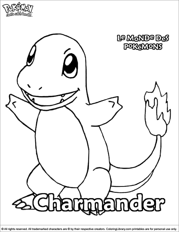 Pokemon Coloring Picture Www Coloring Page