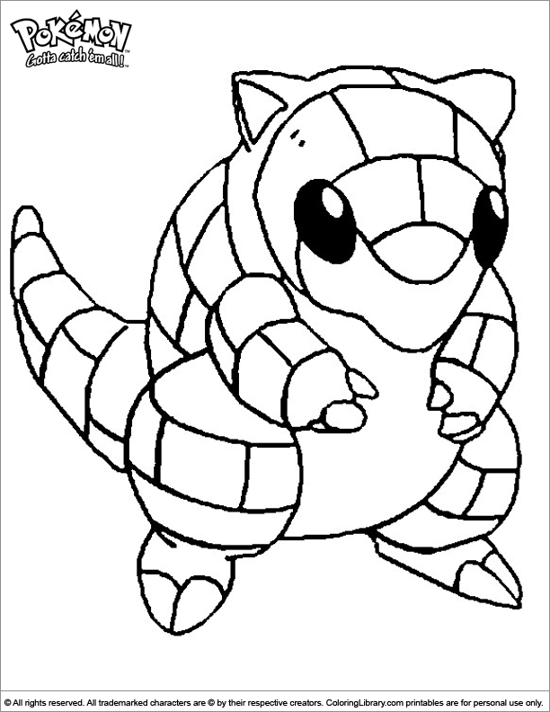 Pokemon cool coloring