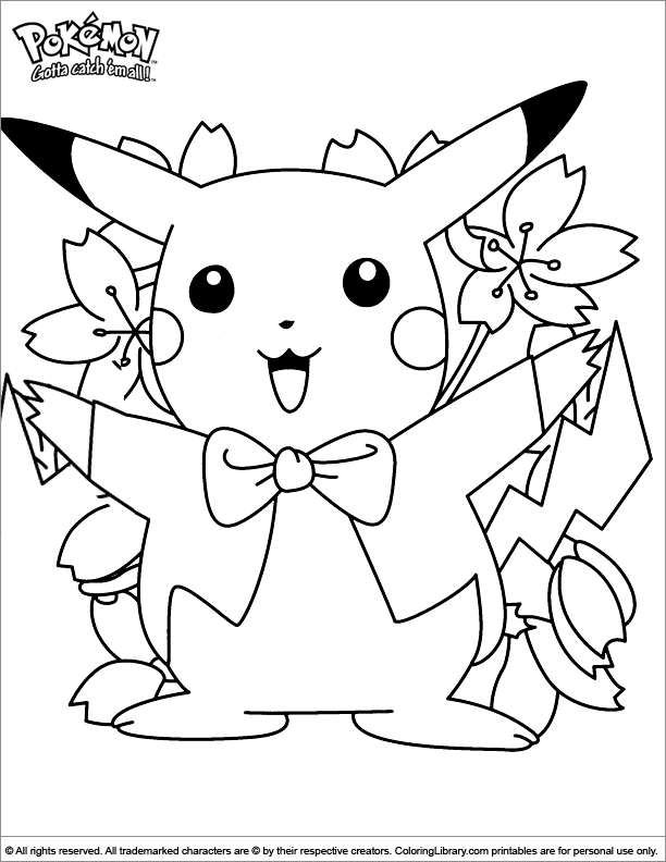 Pokemon Coloring Picture Coloring In Pictures