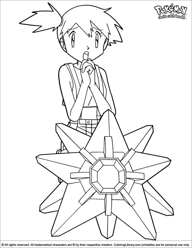 Pokemon cool coloring