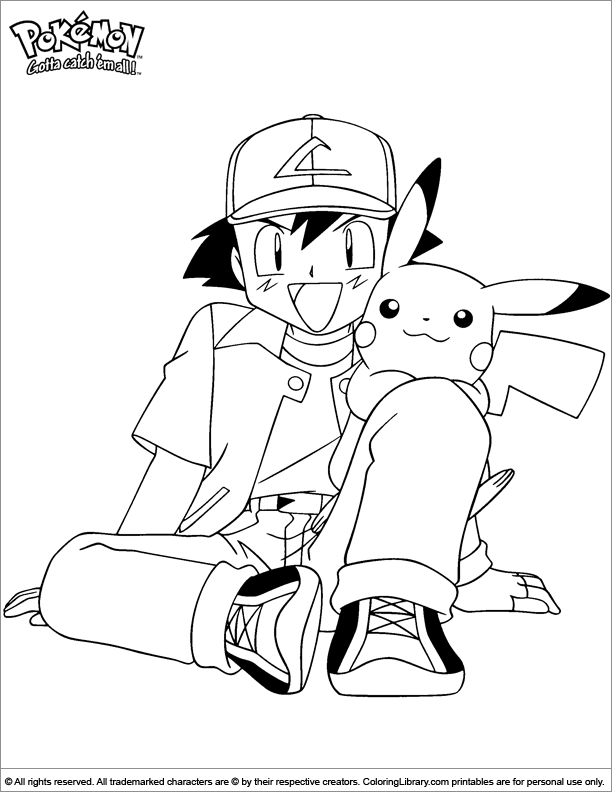 Pokemon coloring