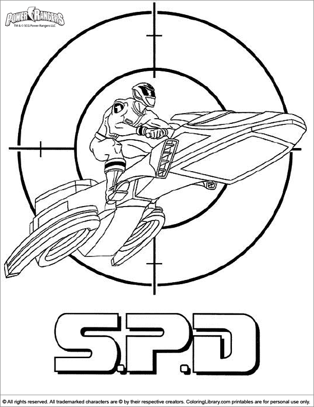 Power Rangers Zeo Coloring Pages Coloring Pages