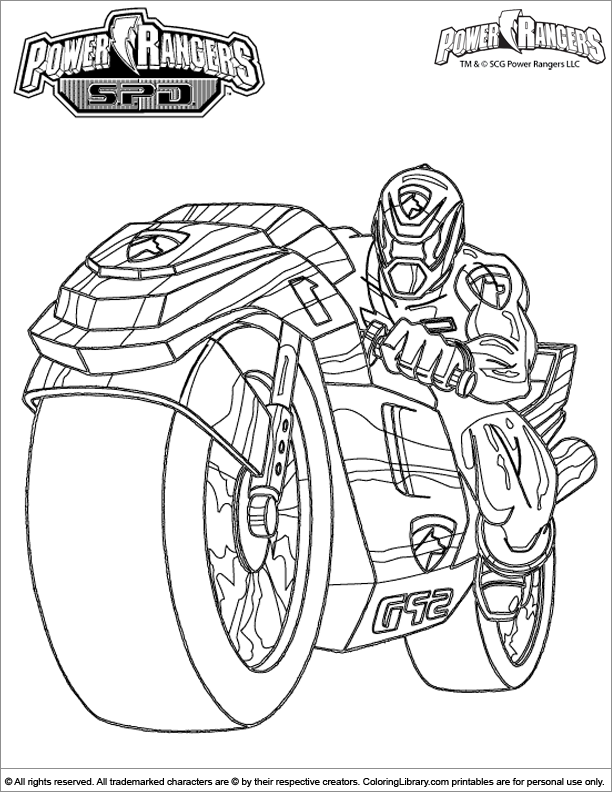 pink power ranger coloring pages - photo#22