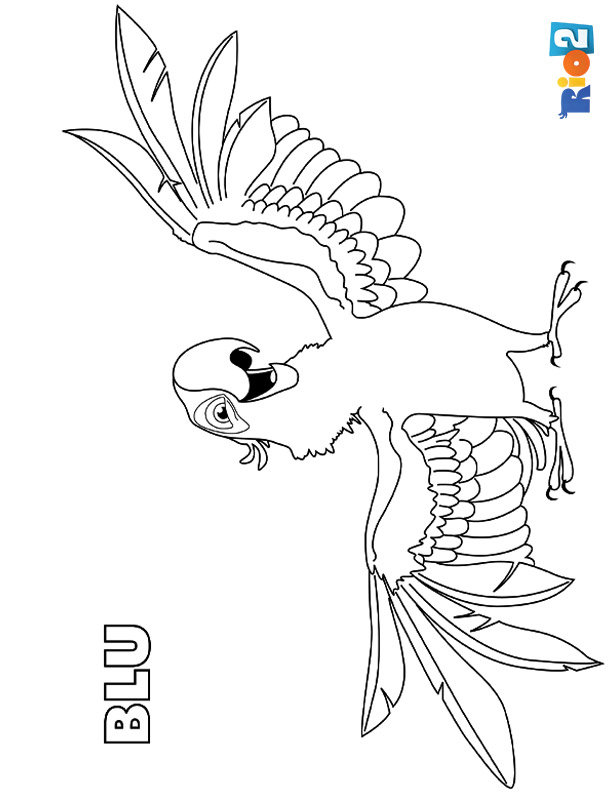 630 Rio Cartoon Coloring Pages Images & Pictures In HD