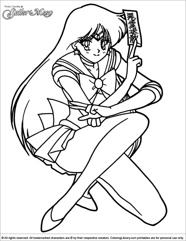 Sailor Moon Coloring Book Printable - Coloring Library