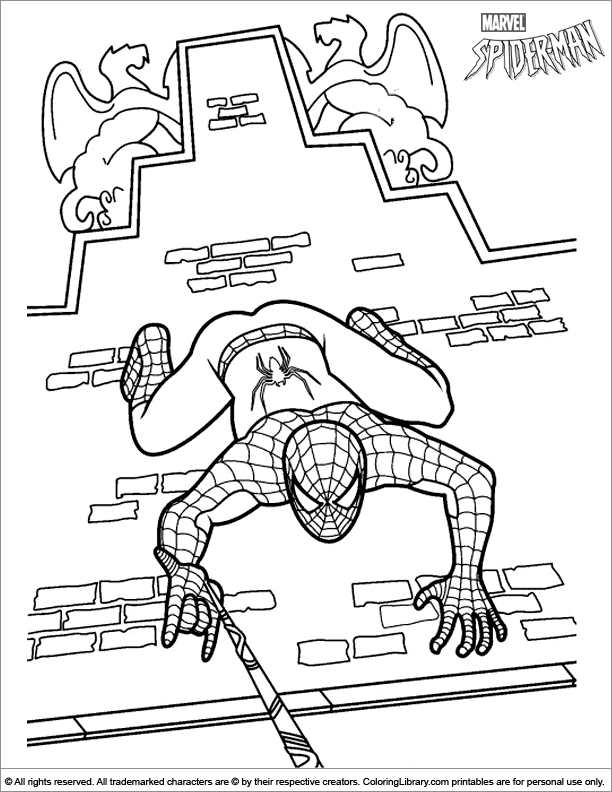 Man Coloring Page #1