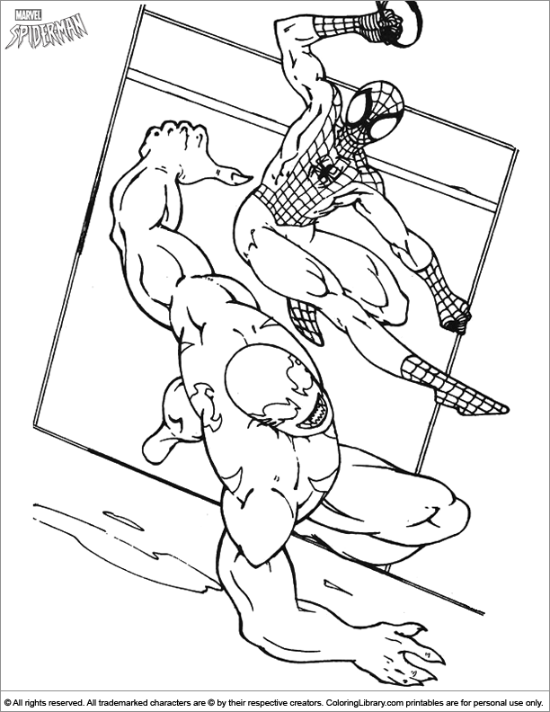 Man Coloring Picture