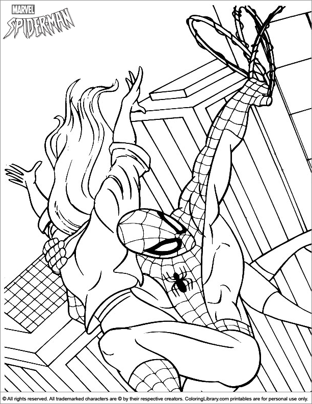 brown recluse coloring pages - photo#7