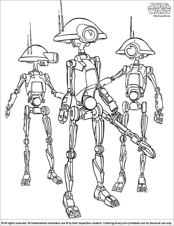 Star Wars coloring
