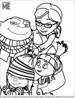 Despicable Me coloring