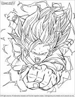 Dragon Ball Z coloring