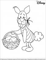Easter Disney coloring
