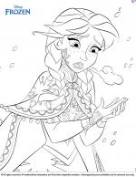Frozen coloring