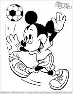 Mickey Mouse coloring
