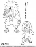 naruto coloring - Naruto Coloring Pages