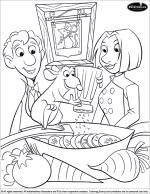 Ratatouille coloring