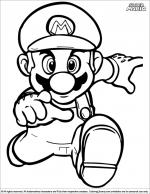 Super Mario Brothers coloring