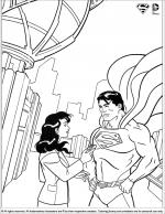 Superman coloring
