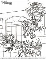Transformers coloring