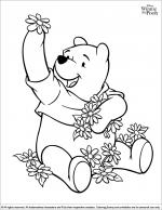 Winnie the Pooh coloring