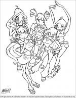 Winx Club Coloring Pages  Coloring Library