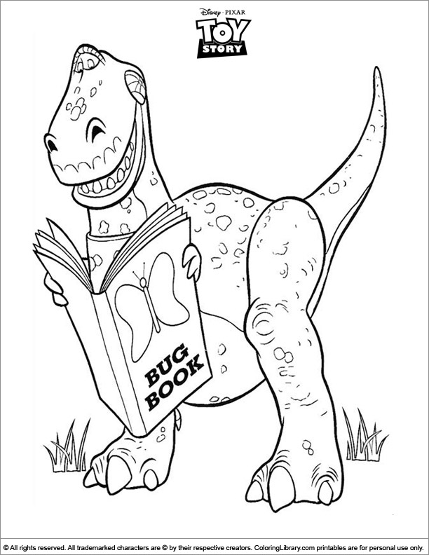 Amazing Toy Story coloring page