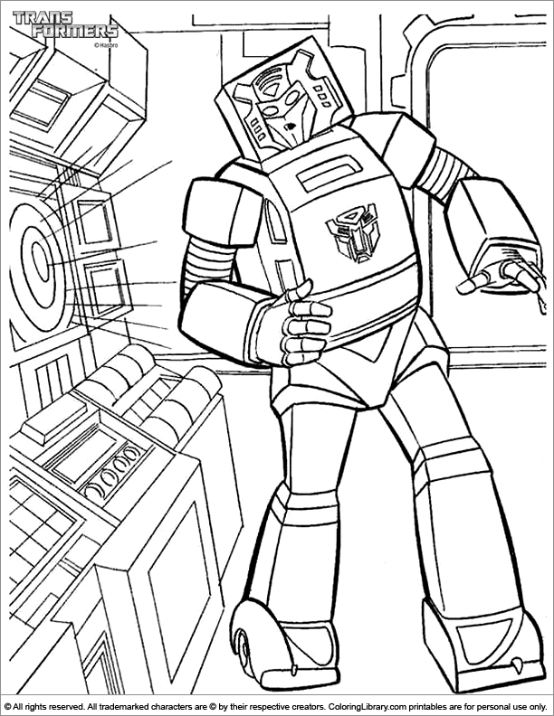 Free Transformers Coloring Pages Optimus Prime, Download Free Clip ... | 792x612
