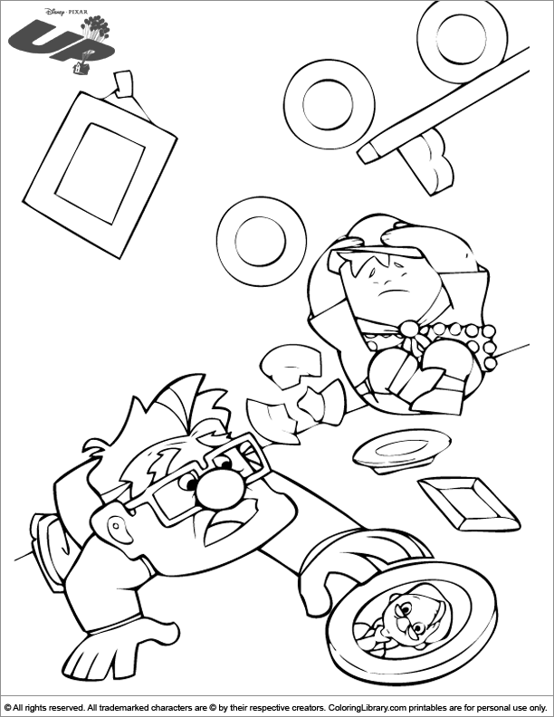 Up coloring page online