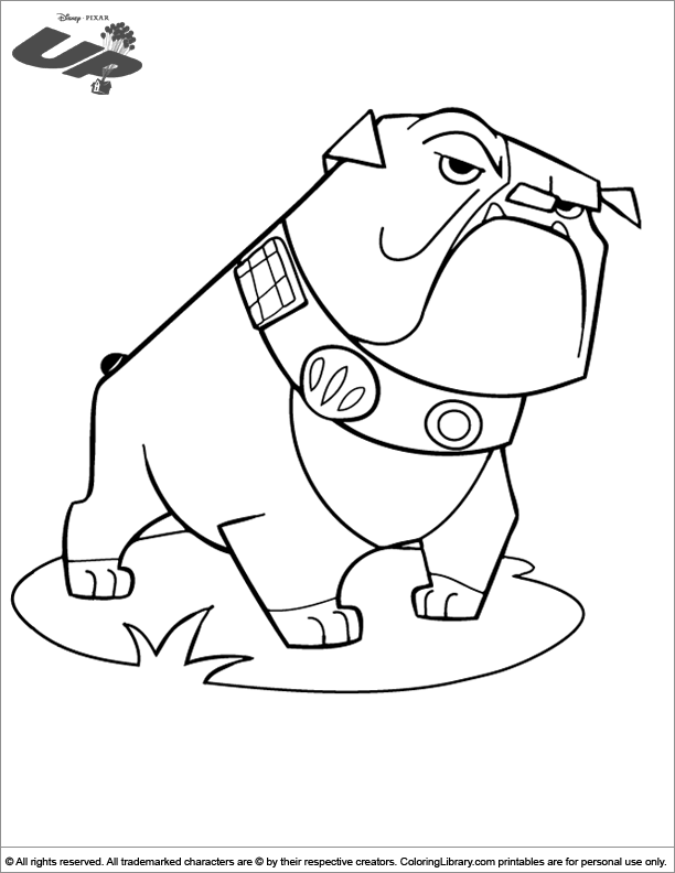 Amazing Up coloring page