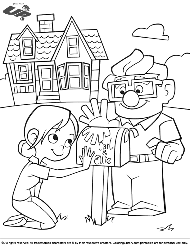 Up coloring