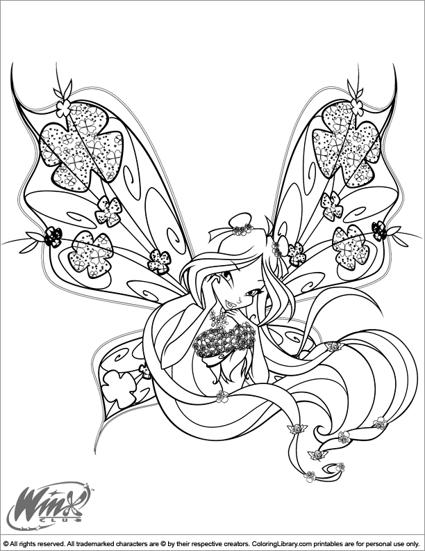 Winks Coloring Pages